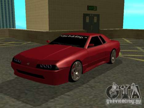 Elegy TDK-The Drift Kings для GTA San Andreas вид слева