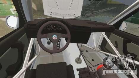 BMW M3 1990 Race version для GTA 4 вид сбоку