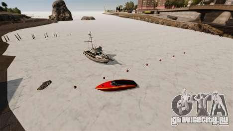 Замёрзшая вода для GTA 4