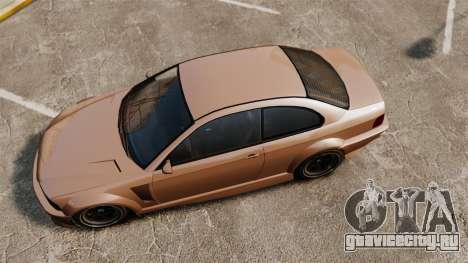 Sentinel RS для GTA 4 вид справа