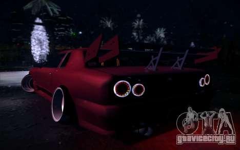 Tuned Elegy для GTA San Andreas вид слева