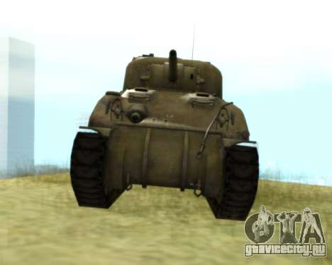 M4 Sherman для GTA San Andreas вид слева