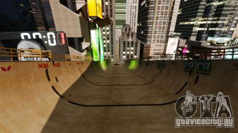 Algonquin Stunt Ramp для GTA 4 третий скриншот