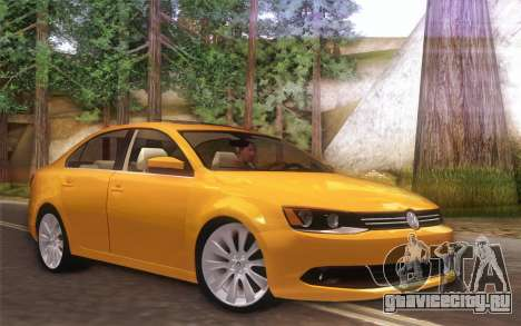 Volkswagen Vento 2012 для GTA San Andreas вид слева