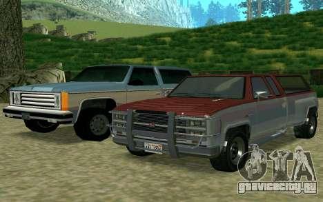 Bobcat XL из GTA 5 для GTA San Andreas вид сзади слева
