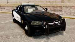 Dodge Charger 2013 LCPD STL-K Force [ELS] для GTA 4