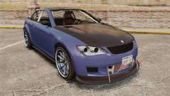 GTA V Sentinel XS Street Tuned Edit для GTA 4