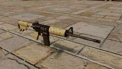 Автоматический карабин M4A1 Desert для GTA 4