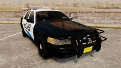 Ford Crown Victoria Police Interceptor [ELS] для GTA 4