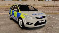 Ford Focus Estate Norfolk Constabulary [ELS] для GTA 4