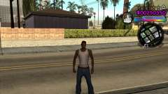 C-HUD by Andy Cardozo для GTA San Andreas