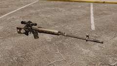Снайперская винтовка Драгунова v2 для GTA 4