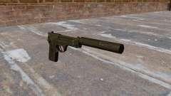 Самозарядный пистолет M9 с глушителем