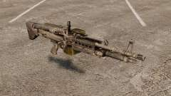 Единый пулемёт M60E4 для GTA 4