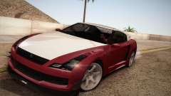 Elegy RH8 from GTA V для GTA San Andreas