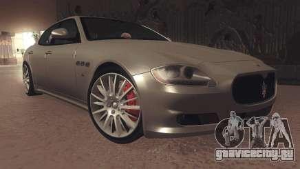 Maserati Quattroporte 2012 для GTA San Andreas