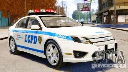 Ford Fusion LCPD 2011 [ELS] для GTA 4