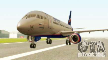 Sukhoi Superjet 100-95 Аэрофлот для GTA San Andreas