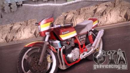 Kawasaki Z-400FX Street Drag T2 для GTA San Andreas