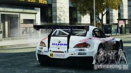 BMW Z4 GT3 2010 для GTA 4