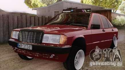 Mercedes-Benz 190E для GTA San Andreas