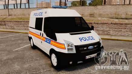 Ford Transit 2013 Police [ELS] для GTA 4