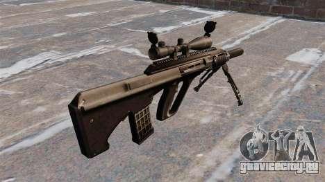 Автоматическая винтовка Steyr AUG3 для GTA 4 второй скриншот
