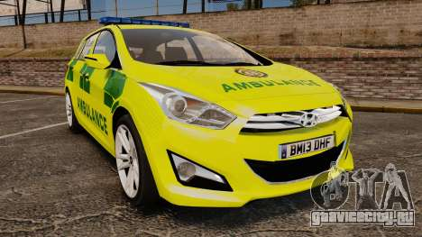 Hyundai i40 Tourer [ELS] London Ambulance для GTA 4