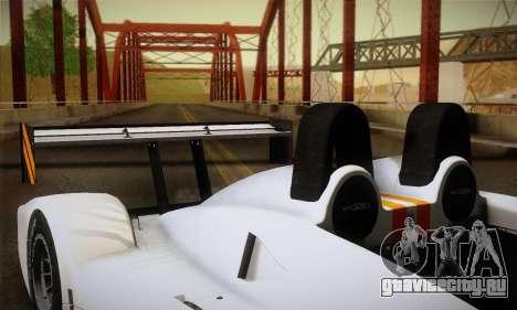 Caterham-Lola SP300.R для GTA San Andreas вид сверху
