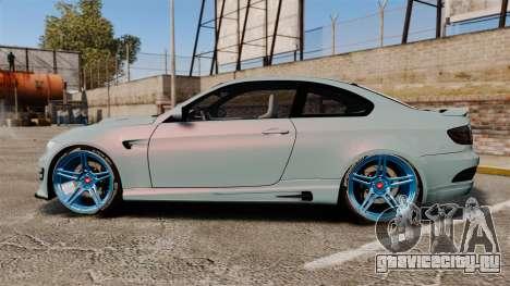 BMW M3 GTS Widebody для GTA 4 вид слева