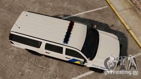 GTA V Declasse Police Ranger LCPD [ELS] для GTA 4 вид справа