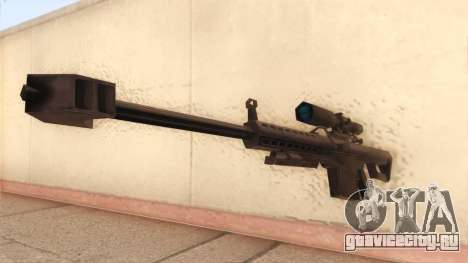Barrett из Call of Duty MW2 для GTA San Andreas