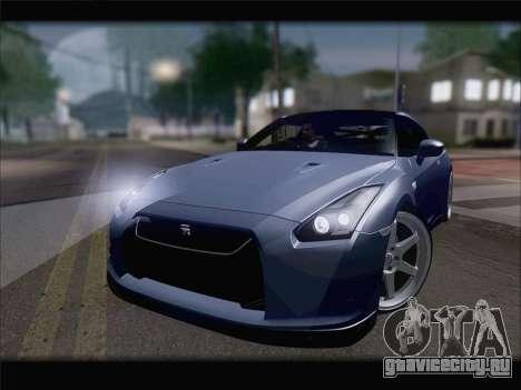 Nissan GT-R Spec V Stance для GTA San Andreas вид справа