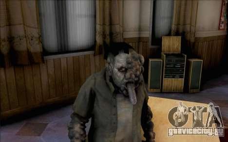 Smoker из Left 4 Dead для GTA San Andreas третий скриншот