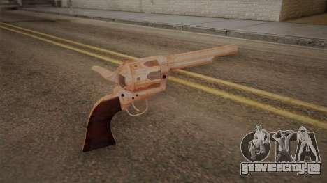 Colt Peacemaker(Хромовый) для GTA San Andreas