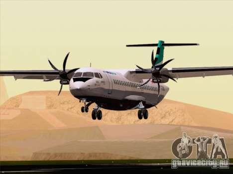 ATR 72-500 WestJet Airlines для GTA San Andreas вид снизу