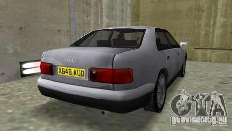 Audi A8 VCM для GTA Vice City вид слева
