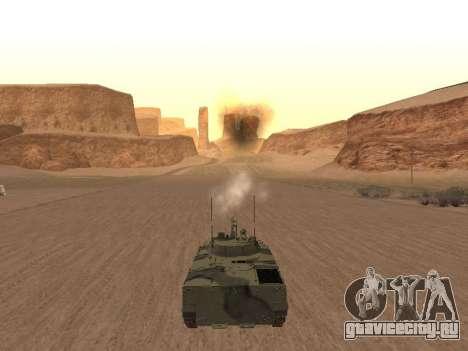БМП-3 для GTA San Andreas вид справа