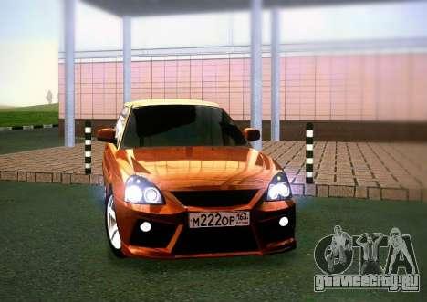 ВАЗ 2172 Coupe Sport для GTA San Andreas вид сзади слева