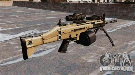 Штурмовой автомат FN SCAR-L C-Mag для GTA 4 второй скриншот