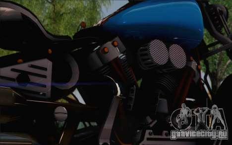 Harley-Davidson Knucklehead для GTA San Andreas вид сзади слева