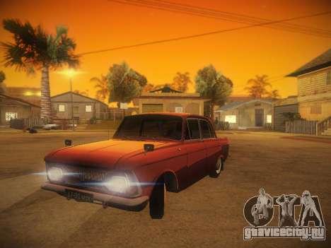 ИЖ 412 v.1 для GTA San Andreas вид сзади