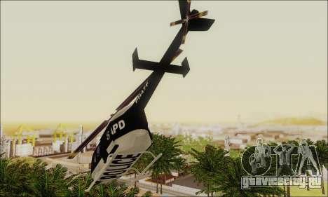 Police Maverick для GTA San Andreas вид справа