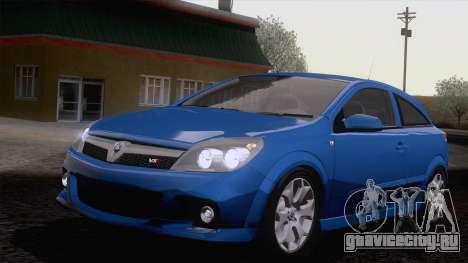 Vauxhall Astra VXR  2007 для GTA San Andreas вид сзади