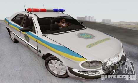 ГАЗ 3111 Мiлiцiя Украины для GTA San Andreas
