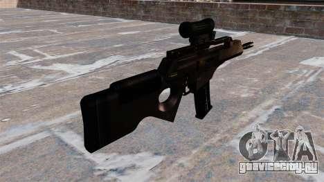 Самозарядная винтовка HK SL8 для GTA 4 второй скриншот