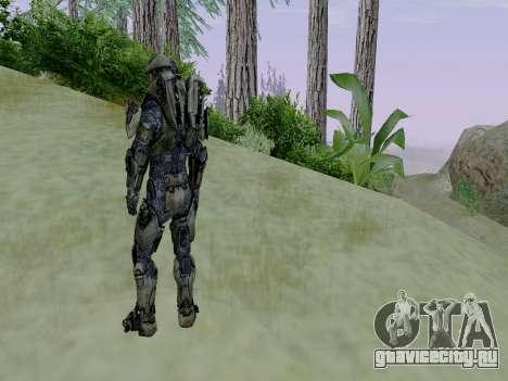 Master Chief для GTA San Andreas пятый скриншот