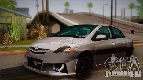 Toyota Vios Slalom Edition для GTA San Andreas