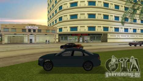 Audi A6 2012 для GTA Vice City вид слева