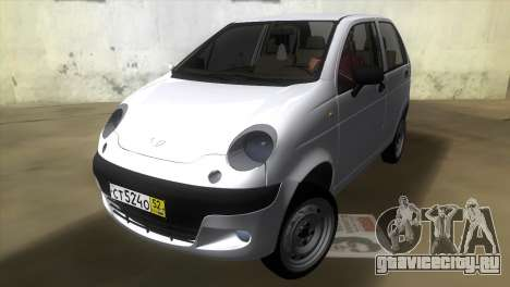 Daewoo Matiz для GTA Vice City